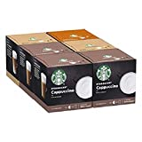STARBUCKS By Nescafe Dolce Gusto Variety Pack White Cup Coffee Pods, 6 X 12 Cpsulas